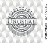 Unusual Realistic Grey Emblem...
