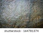 Wet Rock Texture From A Fresh...
