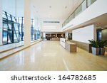 lobby of business building   Shutterstock . vector #164782685