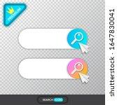 search bar vector design ui...