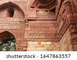 Elaborate Carvings At Ruins Of...