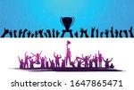 winners trophy champion belt... | Shutterstock .eps vector #1647865471