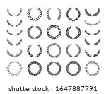 set of different black and... | Shutterstock .eps vector #1647887791