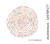 Color Dots. Abstract Backgroun...