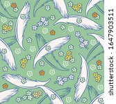 vector seamless pattern with... | Shutterstock .eps vector #1647903511