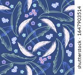 vector seamless pattern with... | Shutterstock .eps vector #1647903514