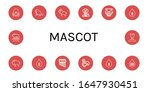 Mascot Icon Set. Collection Of...