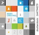 Simple Modern Vector Christmas...