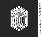 go explore badge logo vector...   Shutterstock .eps vector #1648008697