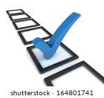 check mark and check box | Shutterstock . vector #164801741
