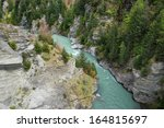 The Shotover River Cutting...