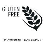 gluten free. allergen food  gmo ... | Shutterstock .eps vector #1648183477