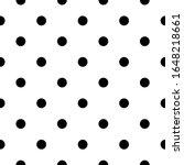 seamless pattern. dots... | Shutterstock .eps vector #1648218661