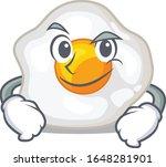 cool fried egg mascot character ... | Shutterstock .eps vector #1648281901