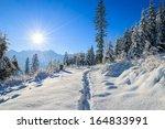 Path In Fresh Snow To Rusinowa...