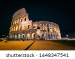 Colosseum In Rome   Italy In...