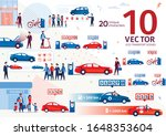 modern ecological transport... | Shutterstock .eps vector #1648353604