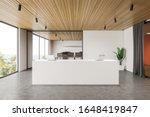 Interior Of Modern Office Hall...