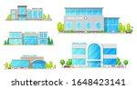 dental clinic buildings vector... | Shutterstock .eps vector #1648423141