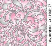 silk texture fluid shapes ... | Shutterstock .eps vector #1648465477
