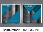 square flyer template. simple... | Shutterstock .eps vector #1648582441