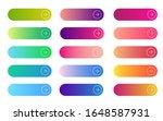 web gradient button. flat... | Shutterstock .eps vector #1648587931