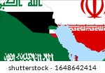 center the map of kuwait.... | Shutterstock .eps vector #1648642414