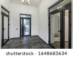 White Empty Corridor For Room...
