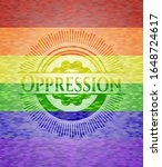 oppression on mosaic background ... | Shutterstock .eps vector #1648724617