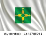 flag of federal district waving ... | Shutterstock .eps vector #1648785061