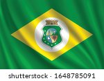 flag of ceara waving in the... | Shutterstock .eps vector #1648785091