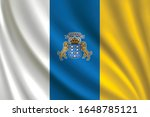 flag of canary islands waving... | Shutterstock .eps vector #1648785121