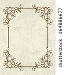 vintage vector background.  | Shutterstock .eps vector #164886677
