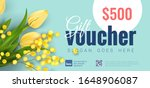 bright colorful gift voucher...   Shutterstock .eps vector #1648906087