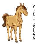 funny pony | Shutterstock .eps vector #164910197