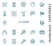 editable 22 ui icons for web...