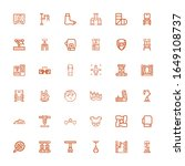 editable 36 arm icons for web... | Shutterstock .eps vector #1649108737
