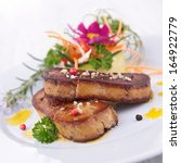 Small photo of roasted foie gras