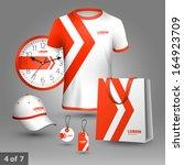 promotional souvenirs design... | Shutterstock .eps vector #164923709