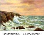 Digital Oil Paintings Sea...