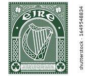 Design With The Ireland Harp...