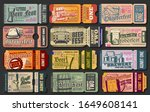 oktoberfest ticket vector... | Shutterstock .eps vector #1649608141