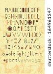 typography   Shutterstock .eps vector #164961347