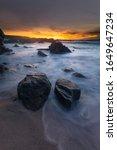 Monterey Coast At Sunset ...