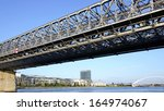 the stary most bridge in...   Shutterstock . vector #164974067