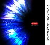 vector blue lines | Shutterstock .eps vector #164979275