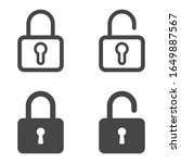 lock icon. set of lock icons in ...