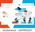 vector cartoon illustration of... | Shutterstock .eps vector #1649902267