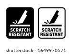 """""""scratch Resistant"""" Proof To..."""