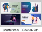 man and woman relationship set. ... | Shutterstock .eps vector #1650007984